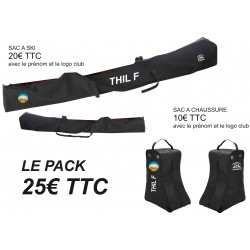 Pack sacs skis et chaussures